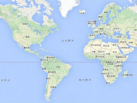 四大洋之一位于欧洲非洲与南北美洲之间