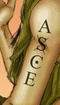 """艾斯的手臂上写着""""asce""""图片"""