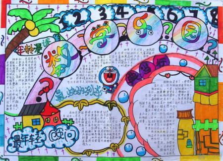 五年级数学与生活手抄报图片-学路网-学习路上 有我