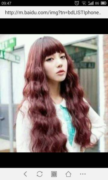 梨花,水波纹,渐变色, 追问 能发个图片看看吗 追问 我头发不长.图片