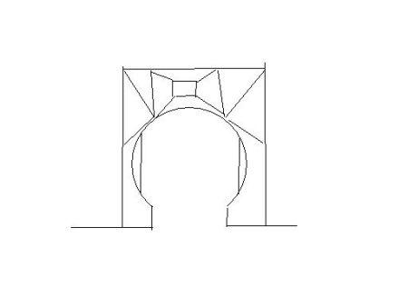 觉得欧式拱形门好看 但是中国风水上说室内拱形门不