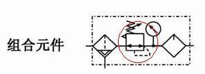 为什么气动减压阀的元件符号,方框里面的箭头是双向的