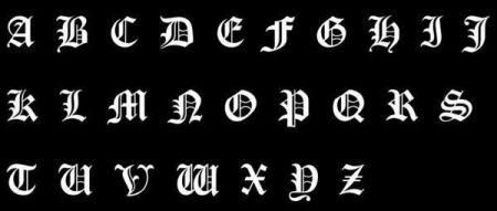 分类:其他社会话题  2014-10-06 16:27 提问者采纳 哥特式字体(gothic图片