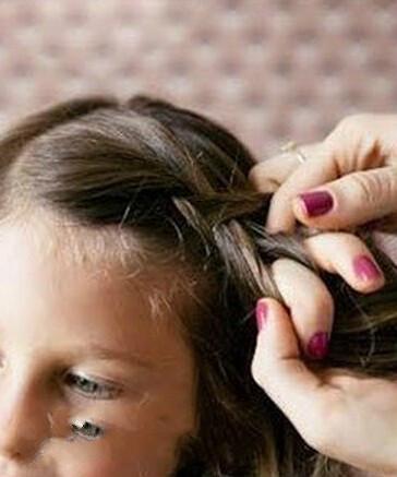 儿童头发怎么扎好看图片和步骤图片