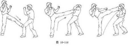 散打侧踢如何用上全身力量 2011-01-15 跆拳道的横踢(就是空手道里的图片