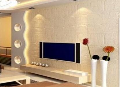 用硅藻泥做电视机背景墙效果好吗?