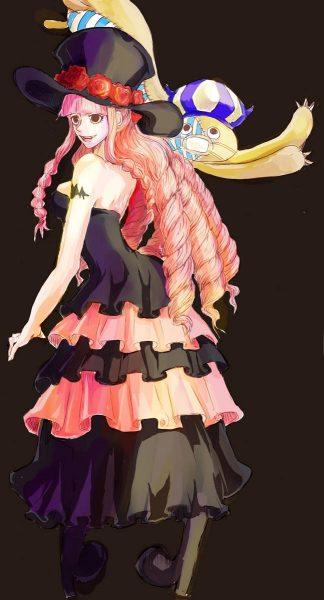 女长发动漫角色人物美型服装华丽图片
