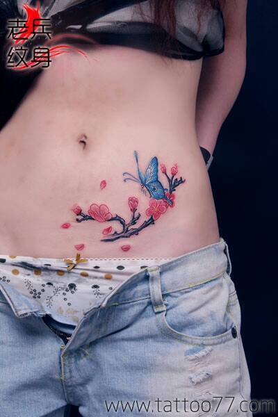 找一张梅花图片纹身用小一点的图片