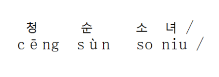 翻译成韩语怎么读?