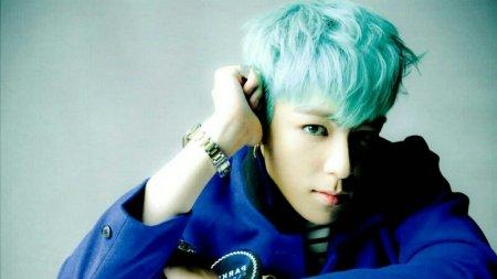 崔胜铉top蓝色发型谁有这张原图跪求2015最新头型男短发图片