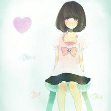 qq头像手绘女生简单图片