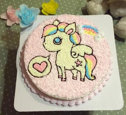 宝宝周岁蛋糕样式
