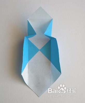 怎样折纸盒知道图片-餐巾纸盒