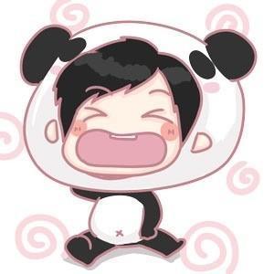 可爱熊猫头像(3)