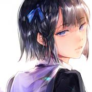 短发女生动漫头像(7)
