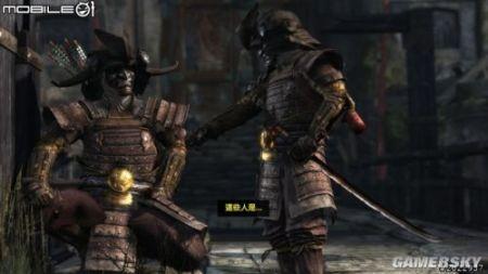 求教这个是日本武士电影还是游戏啊?