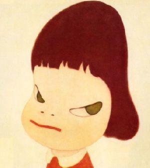 这名字头是娃娃?蘑菇喝奶图片