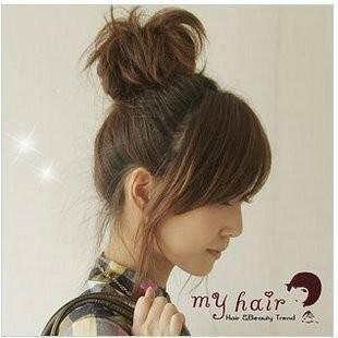 扎头发哪种可爱图片图片