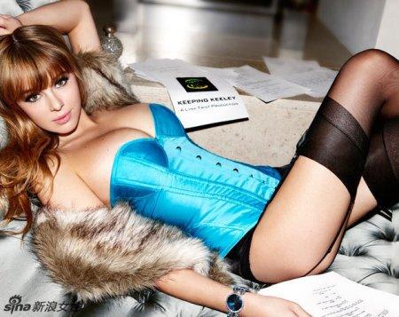 身材一级棒这个外国美女是谁?