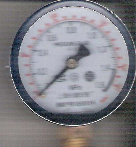 轮胎气压表读数表示什么?图片