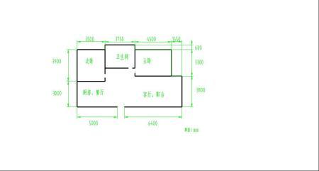 谢谢~ 3 2013-11-05 两室一厅的房子有多少平方啊?图片