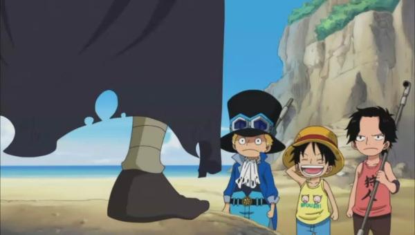 求海贼王艾斯 路飞 小时候 的所有衣