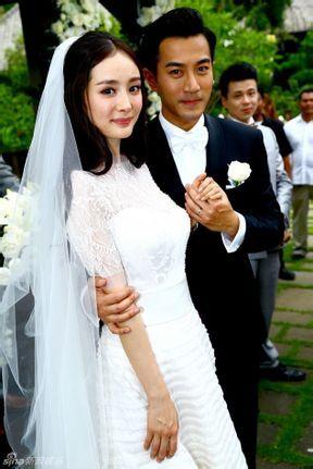 求杨幂刘恺威结婚照片图片