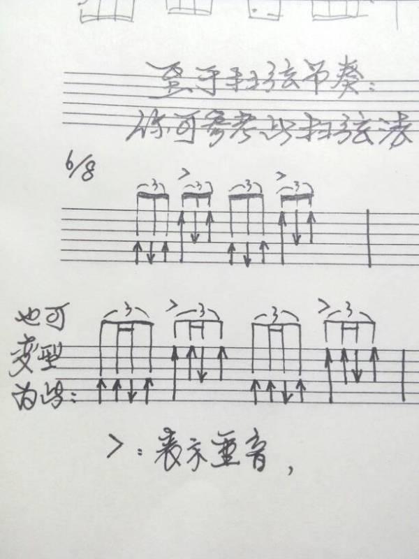 光阴的故事 吉他A调谱 下面是C调的谱 跪求