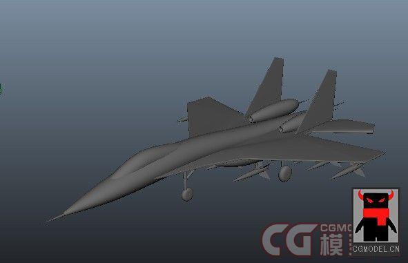 求一个maya的飞机模型 急求高清图片