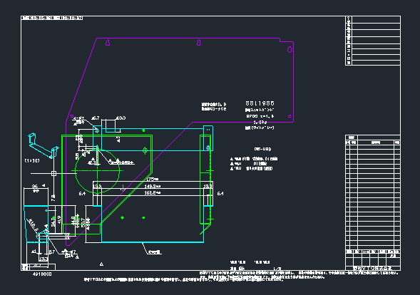 AUTO-CAD2012中把单个的CAD膛线复制到一图纸图纸哪里黑石在图片