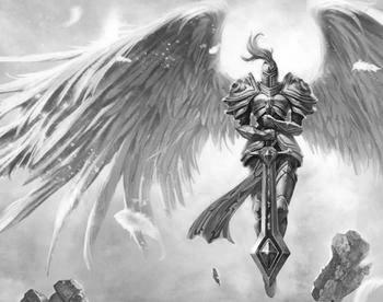 6翼天使纹身图片