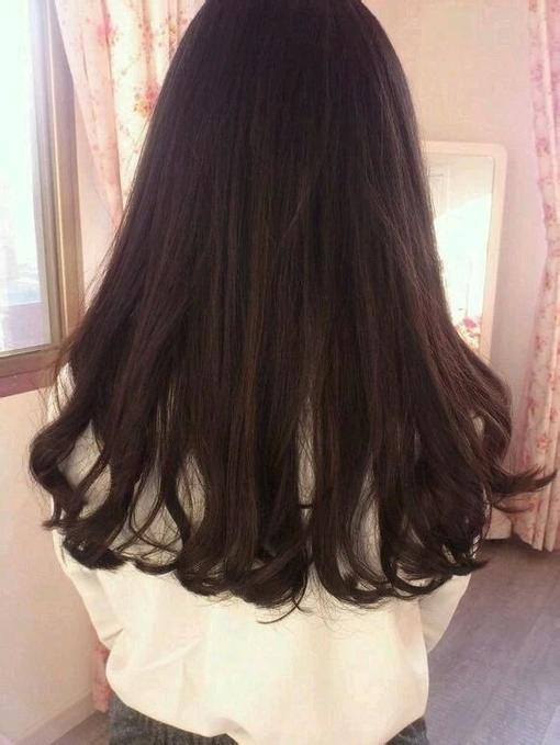 发黑色,不想染头发,烫什么发型好看,需要发型图片图片