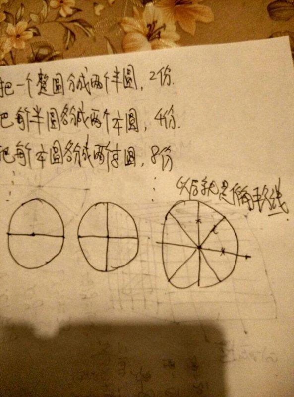 如何用圆规画32等分的圆,求详细步骤
