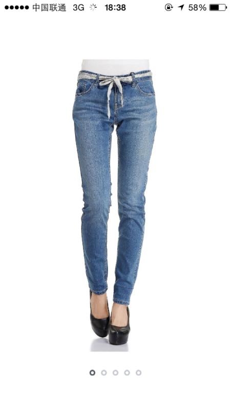 问大家觉得这种腿型穿哪条裤子最好看 谢谢回答图片