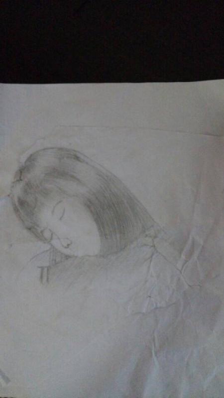 求素描画画大师帮我画个女孩子的嘴巴图片