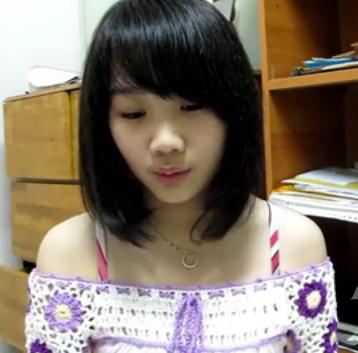 马来西亚的15岁小美女翻唱because