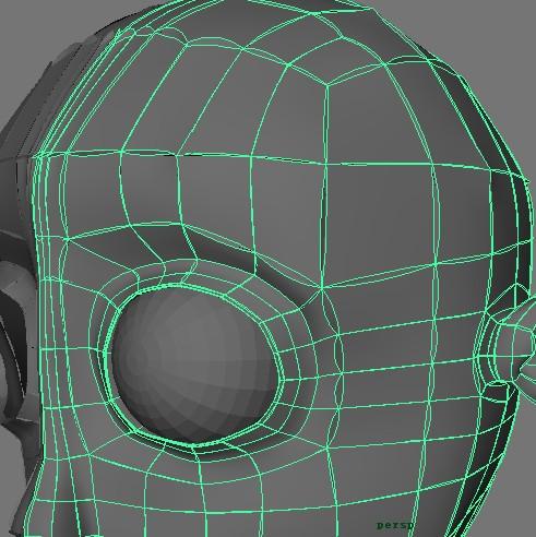 maya模型按3键圆滑高清图片