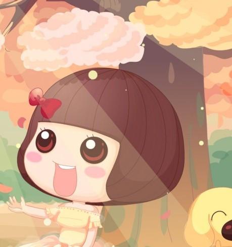 主角是麦麦以及一只金毛小狗,麦麦是个蘑菇头短发妹,小狗名字却叫图片