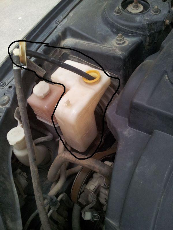 您好,汽车管家团队为您解答   这是水箱,水箱是一定要加水高清图片