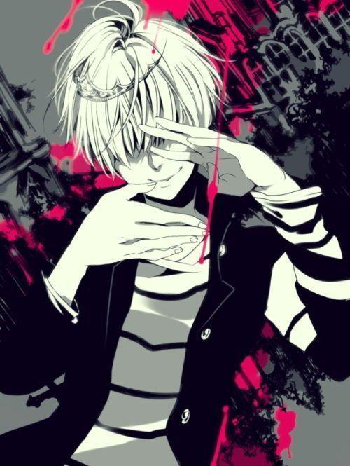 Злая улыбка аниме