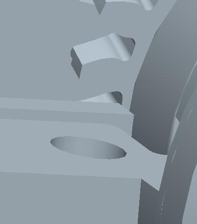 PROE斜齿轮怎么啮合