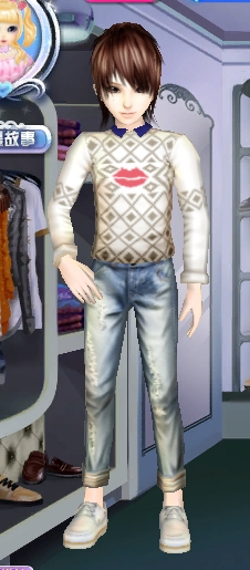 QQ炫舞搭配衣服,男生的图片