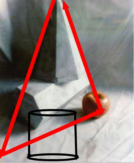 三角形构图图片