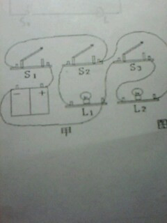 初三物理电路连接题 急需解答