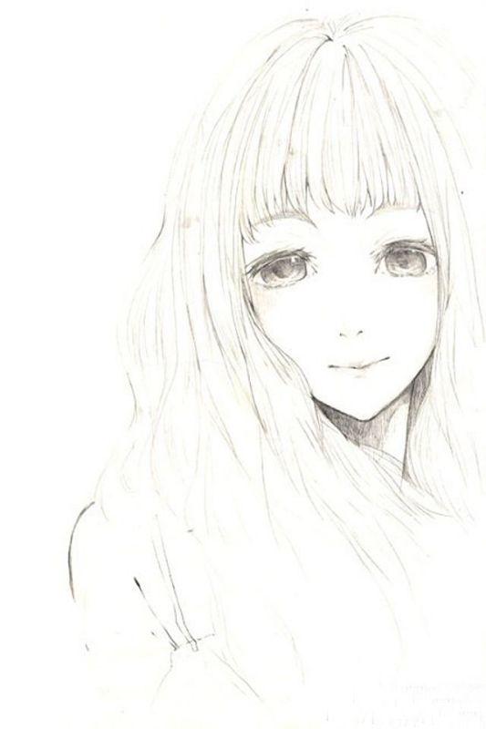 这样的简单的手绘铅笔画还有吗?