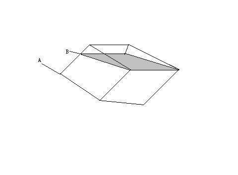 在内侧棱长为10cm的正方体容器里装满水,如图