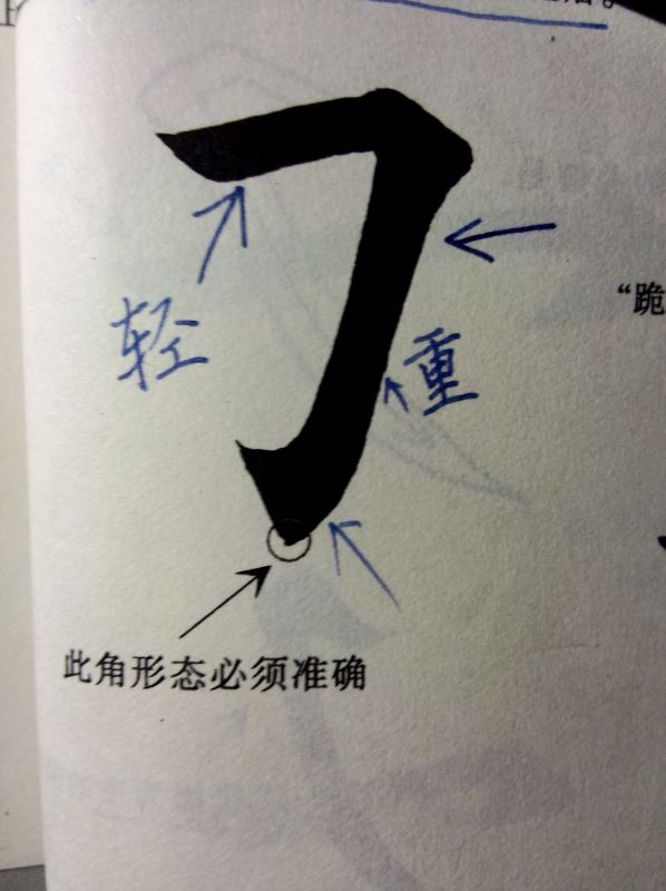 笔画横撇弯钩和横折折折钩中的,横撇和横折有什么区别谢谢会书法的人回答