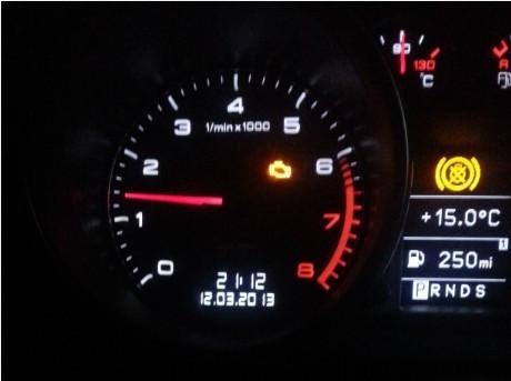 奥迪TT内部仪表盘指示灯这个是什么意思高清图片