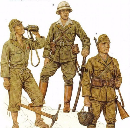 二战日本军服图片