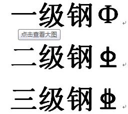 钢筋直径符�_这符号前面的数字表示钢筋根数,后面表示钢筋直径.